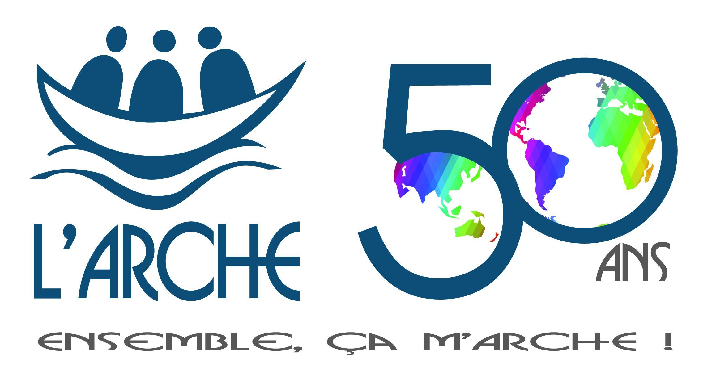 Logo de L'Arche pour Le Jubilé