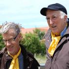 Jean Vanier à l'anniversaire de L'Arche Les trois fontaines