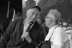 Jean Vanier et Jean-Pierre Crépieux ©FR Salefran