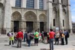 Passage par Chartres