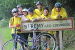 Arrivée à St Remy les Chevreuse