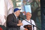 Jean Vanier et Jean-Pierre Crépieux ©Elodie Perriot