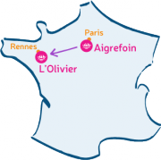 L'Arche d'Aigrefoin va rencontrer L'Olivier