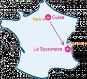 L'Arche de Cuise va rencontrer Le Sycomore, près de Chambéry.