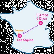 L'Arche à Dijon rendra visite à la communauté des Sapins