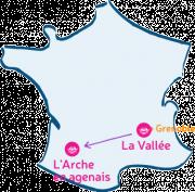 L'Arche de La Vallée m'arche vers L'Arche en Agenais.