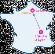 L'Arche à Lyon va rencontrer Le Levain (Compiègne)