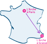 L'Arche à Paris rejoint L'Arche à Grasse