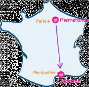 L'Arche à Pierrefonds va rencontrer L'Horizon, près de Montpellier.