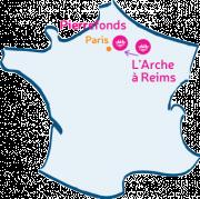 L'Arche à Reims rejoint L'Arche à Pierrefonds.
