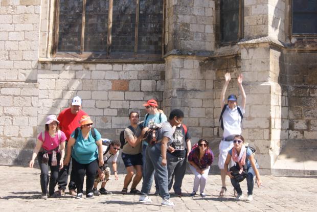 Visite de la cathédrale de Bourges