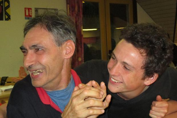 Jean-Pierre et Quentin