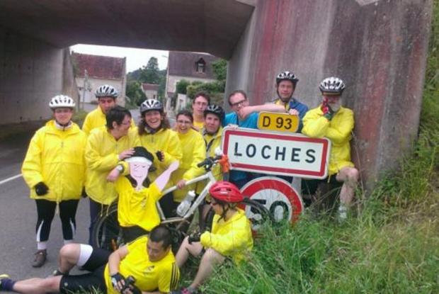Arrivée à Loches, 4e étape