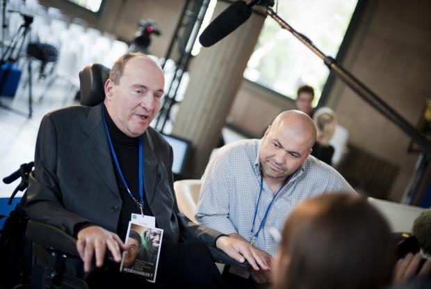 Philippe Pozzo d Borgo et Abdel Selloun le 16 mai au CESE