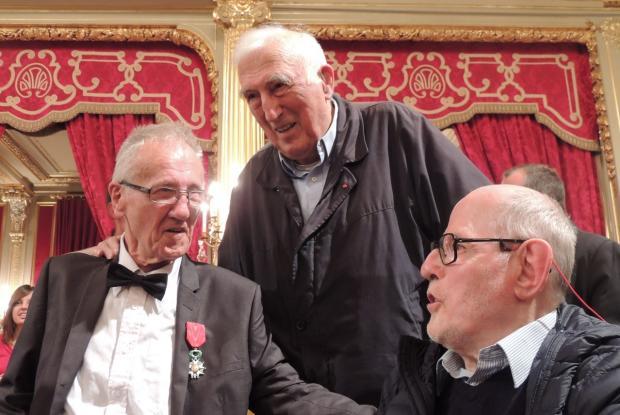 Les 3 compaires : Jean-Pierre, Jean et Philippe