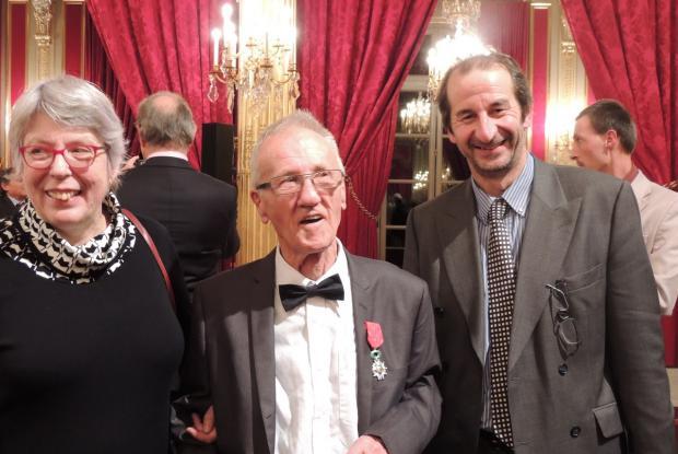 Michèle Dormal, Jean-Pierre Crépieux et Nicolas de Mahuet