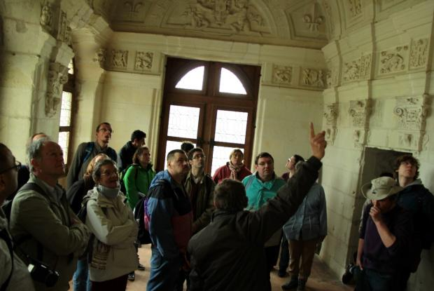 Visite du château de Chambord