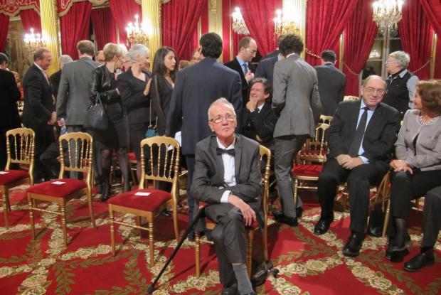 Jean-Pierre dans le salon de l'Elysée