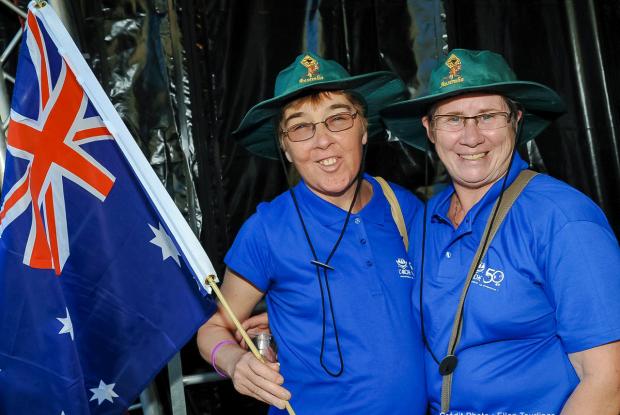 Binôme d'Australie ©Ellen Teurlings