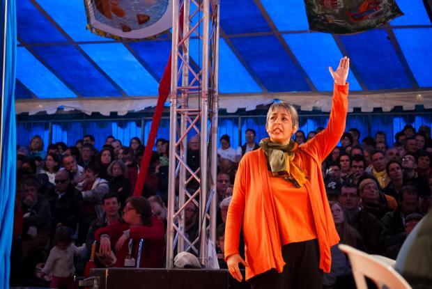 Anne Faisandier à Paray-le-Monial