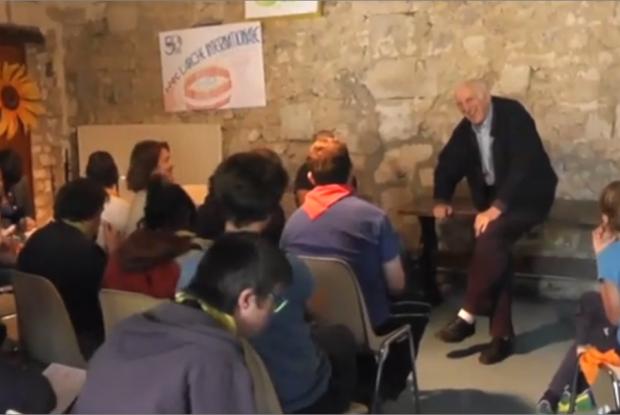 Jean Vanier et L'Arche à Grenoble