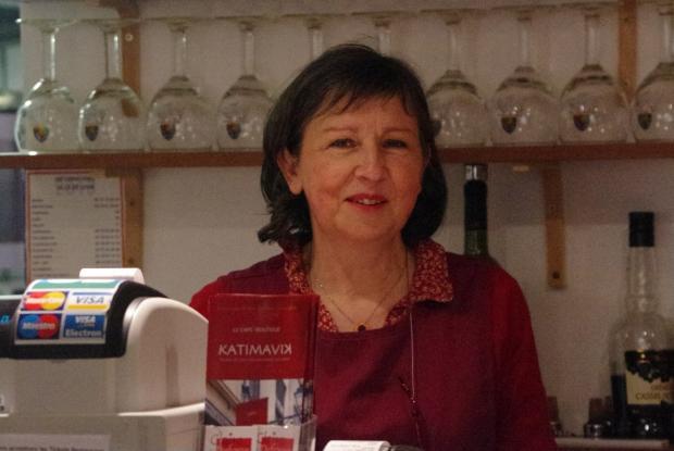 Sophie, bénévole au café/boutique Katimavik