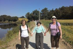 Aure-Anne, Isabelle et Marie-Odile