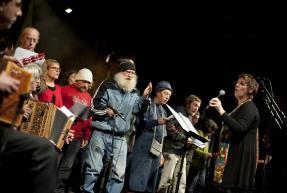 La Chorale de la Rue au Colloque Fragilités 2013