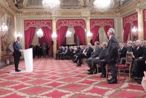 François Hollande s'adresse à Jean-Pierre Crépieux