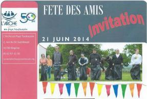 Invitation Arche en pays toulousain